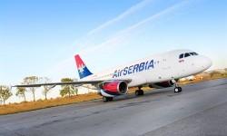 Avión de Air Serbia. Fuente: Europapress.