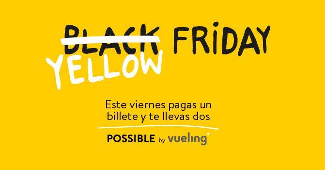 """Promoción """"Black Friday 2015"""" Vueling"""