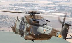 Sucedió también en septiembre. FAMET recepciona sus tres primeros NH-90, modelo con el que sustituirá una parte importante de su flota actual.