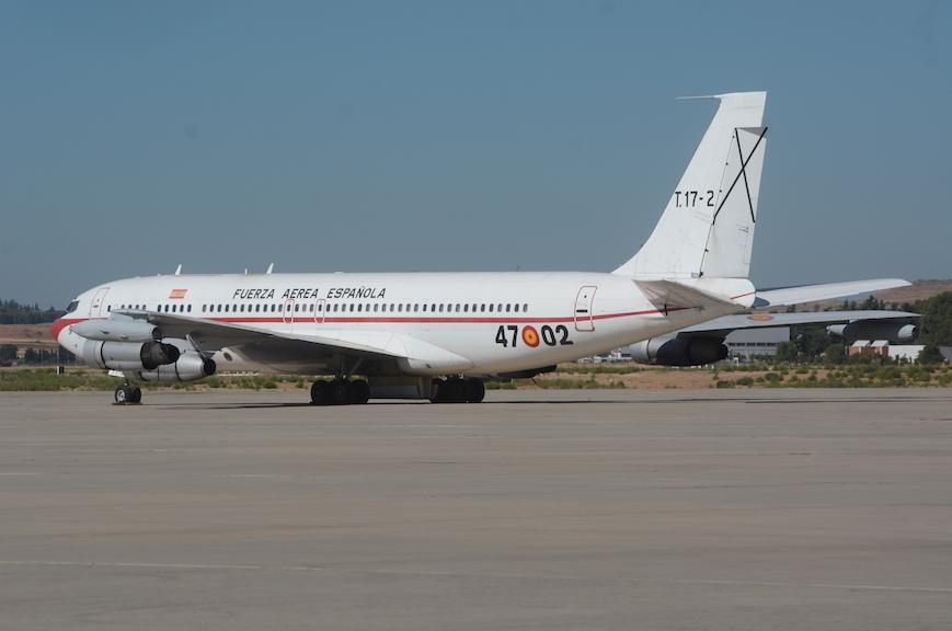 En septiembre el Boeing 707, tras 30 años de servicio en el Ejército del Aire como tanquero, transporte VIP y transporte general fue retirado de servicio.
