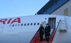 Iberia estrena por todo lo alto su nuevo avión de largo radio, el A320-200. A lo largo del año recupera las rutas cerradas en América, Asia y Africa; abre otras en Asia; pero también cierra algunas en África.