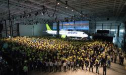 En cinco meses Bombardier puso en servicio el CS100 con Swiss y el CS300 con Air Baltic.