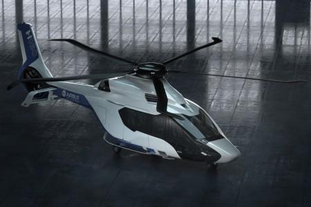El rotor principal del Airbus helicopters cuenta con unas palas de un nuevo diseño aerodinámico.