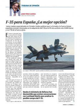 El Ejército español, y principalmente la Armada, lleva años siguiendo el desarrollo del Lockheed Martin F-35