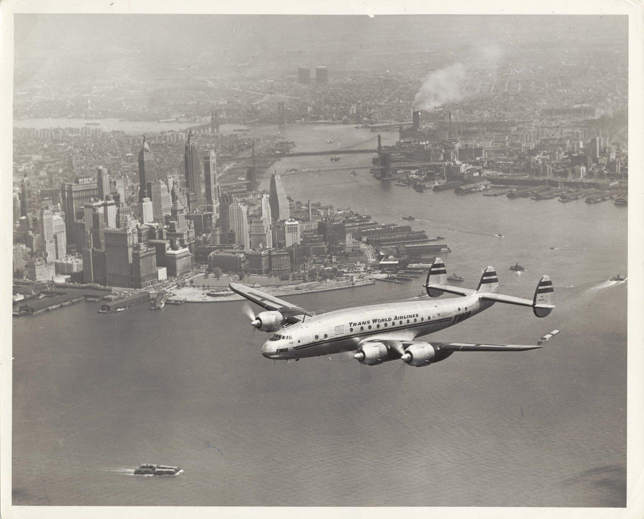 TWA fue la primera compañía en utilizar el Constellation.
