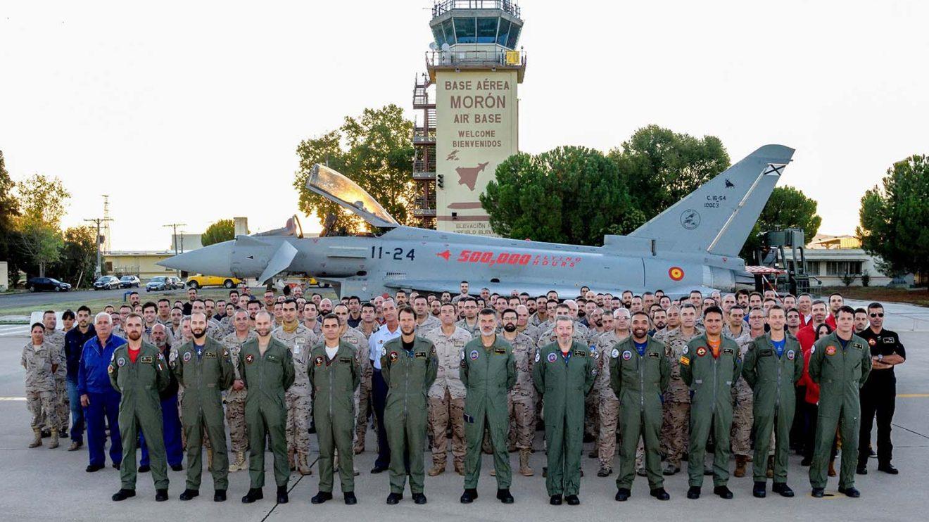 Ala 11 del Ejército del Aire español en Morón.