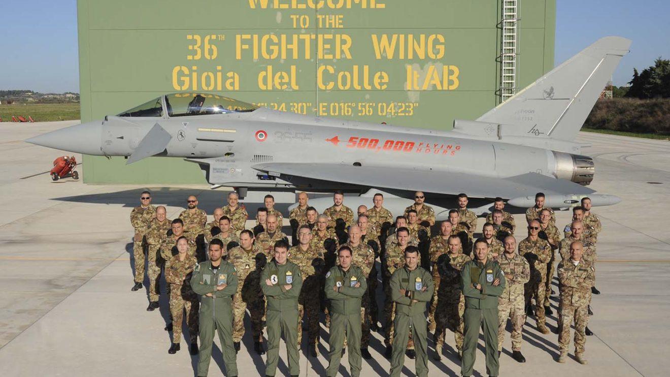 Ala 36 de la Aeronáutica Militar italiana en la base de Goia del Colle.