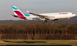 Airbus A330 de Eurowings.