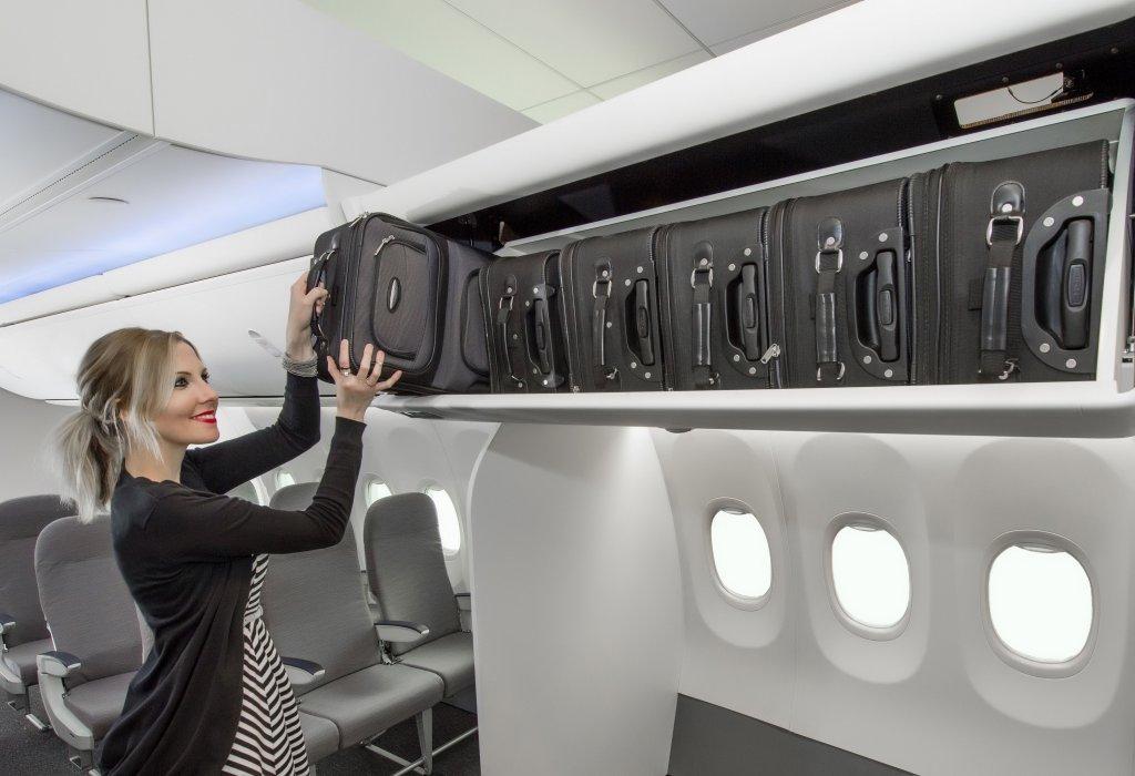 Boeing presenta una nueva generación de armarios para los B-737.