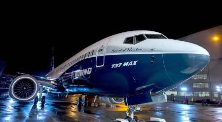Ya pintado, el Boeing 737 MAX 8 ha sido sometido a numerosas pruebas en tierra antes del primer vuelo.