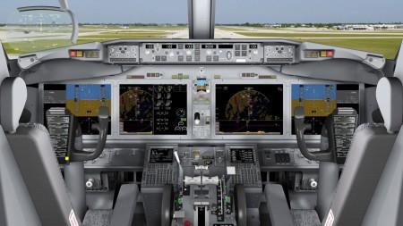 cockpit del Boeing 737 MAX