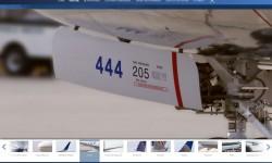Detalle del Boeing 737-900ER de United