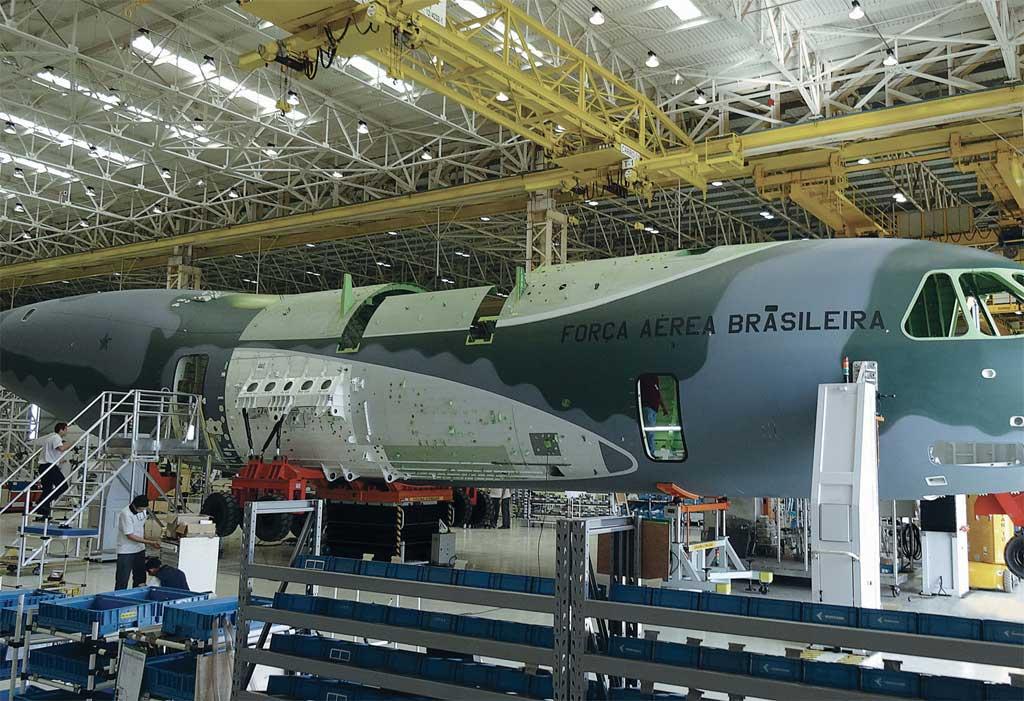Embraer KC 390 fabricación