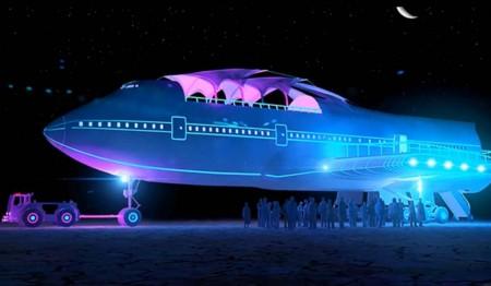 Así quedará el Boeing 747 una vez se completen los trabajos de modificación.