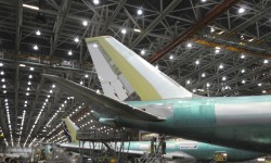El trabajo realizado culmina, en este caso, con la presentación mundial de un nuevo avión