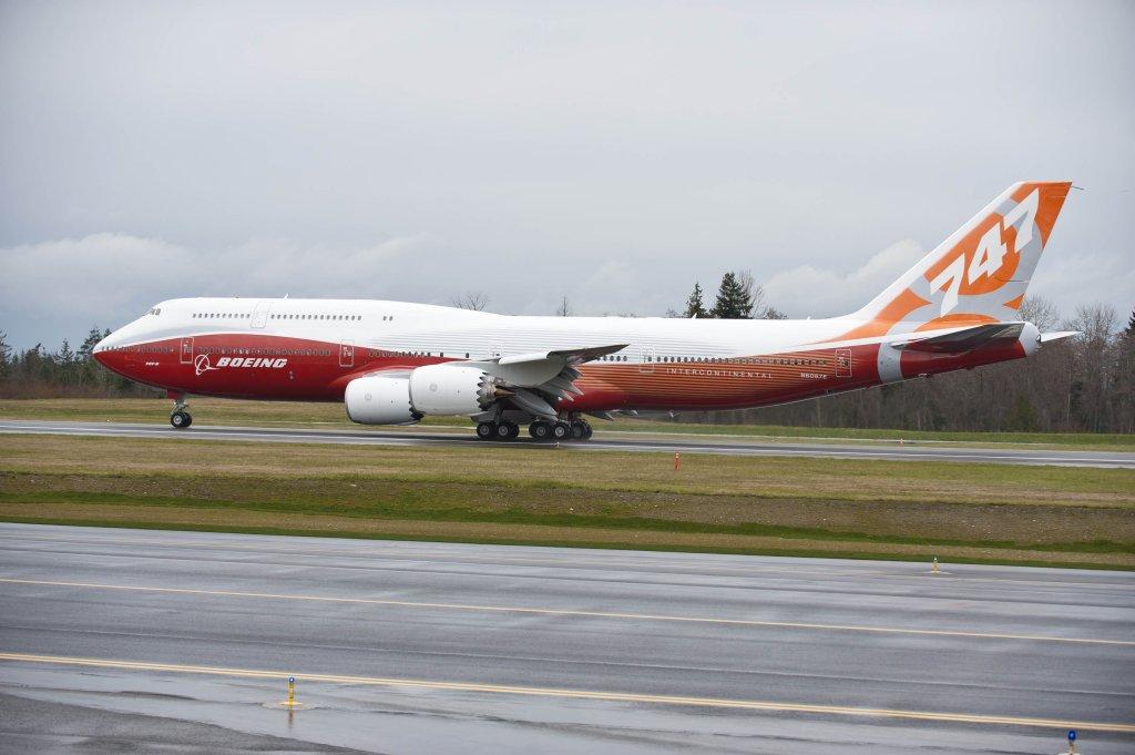 Boeing 747-8I Intercontinetal
