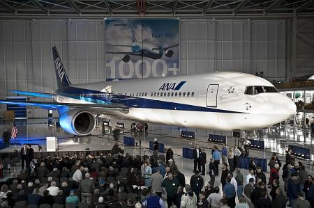 Boeing 767 número 1.000