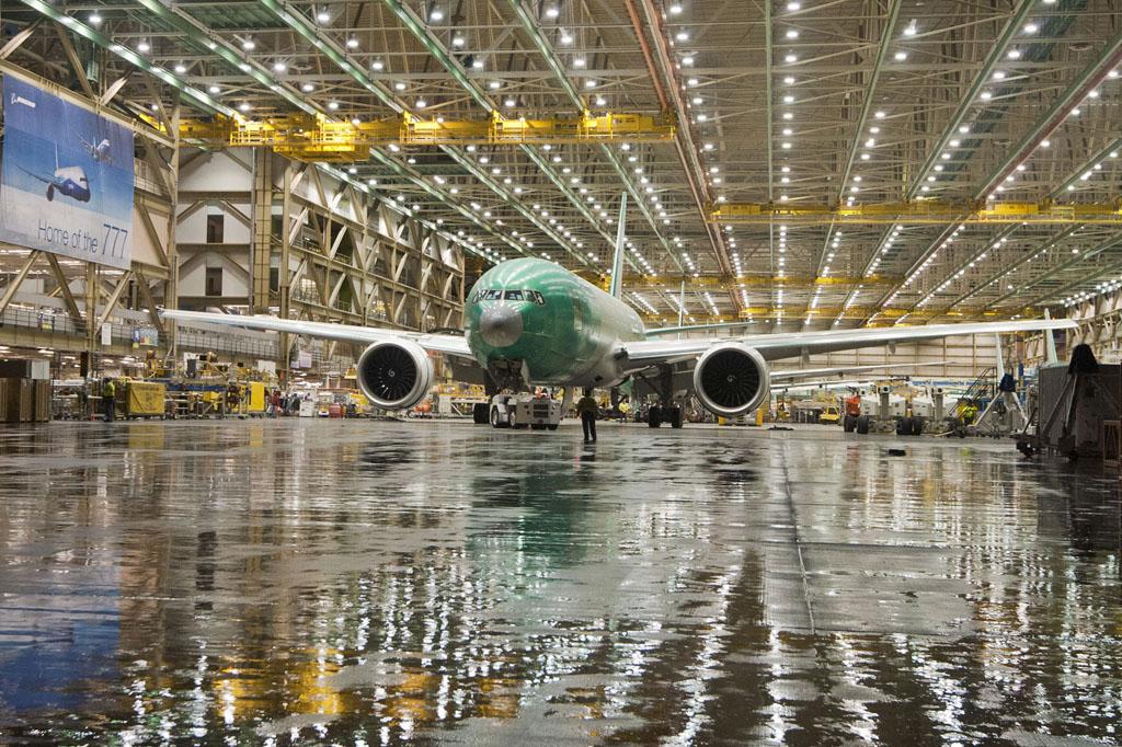 Cadena de montaje del B-777
