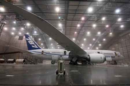 Boeing 787-8 en Eglin