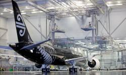 Entre los 342 aviones comerciales entregados por Boeing en los seis primeros meses de 2014 está el primer B-787-9.