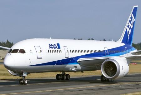 Boeing entrega el primer B-787 a ANA