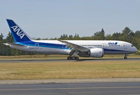 B-787 Dreamliner con los colores de ANA