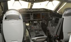 Para muchos los mejores asientos de un avión con sus enormes ventanas hacia delante.