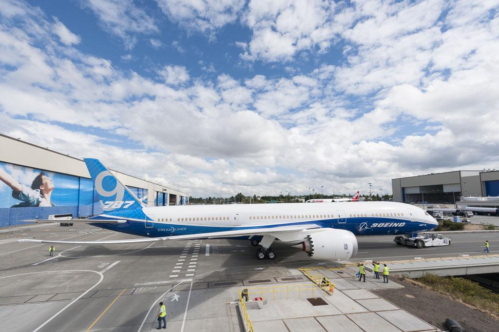 Boeing está montando ya dos Boeing 787-9 más que se usarán en el programa de ensayos en vuelo y certificación.