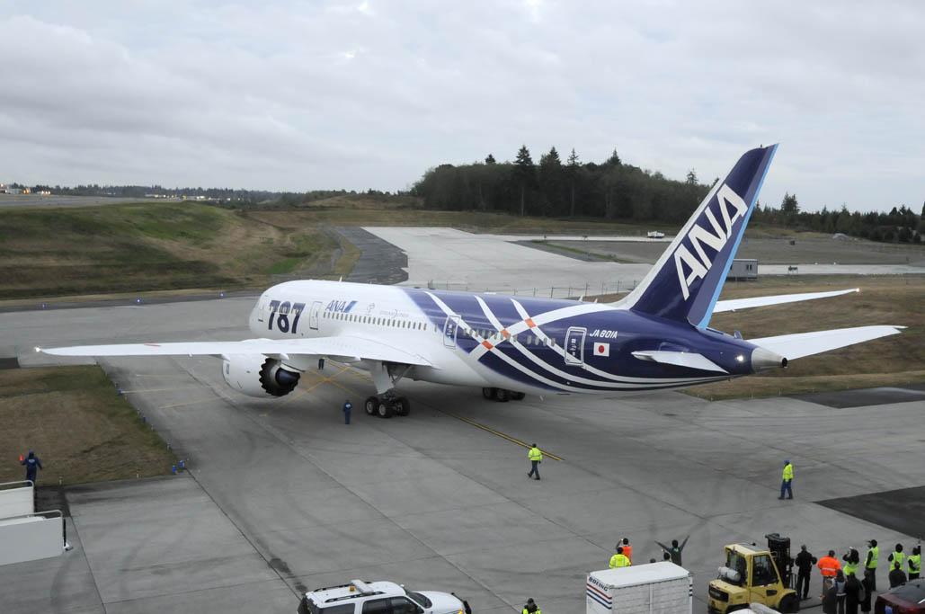 Boeing 787 Dreamliner JA801A