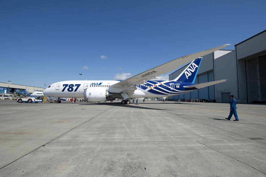 Boeing 787 Dreamliner de ANA