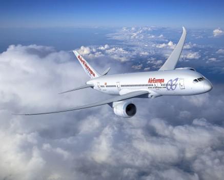 Air Europa alquila dos Boeing 787 ma´s a ILFC