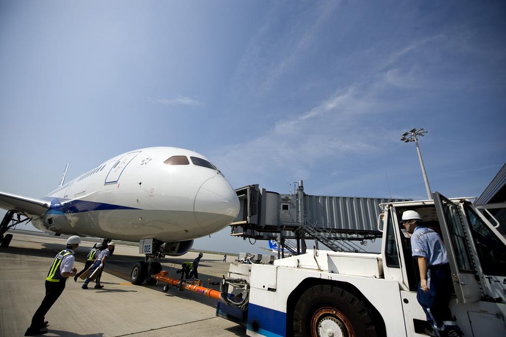 Boeing 787 Dreamliner en Japón