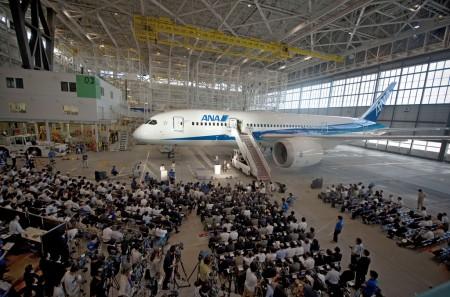 ANA es el cliente de lanzamiento del B-787