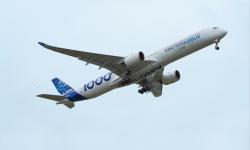 En febrero Airbus Operations en Getafe entregó el primer HTP para el nuevo A350-1000, nueve meses más tarde, en diciembre, el nuevo avión realiza su primer vuelo.