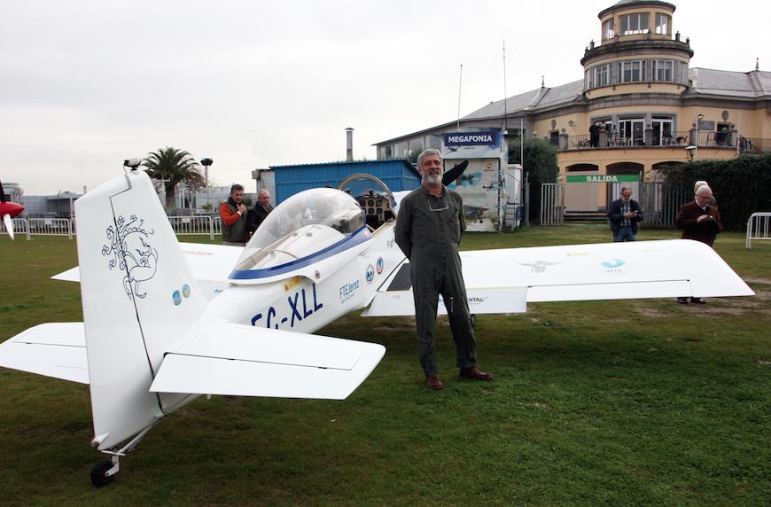 En febrero despegaba del aeropuerto de Cuatro Vientos la misión Sky Polaris. Miguel Gordillo, lograría dar la vuelta al mundo sobrevolando ambos polos mientras medía el nivel de contaminación de hollín.