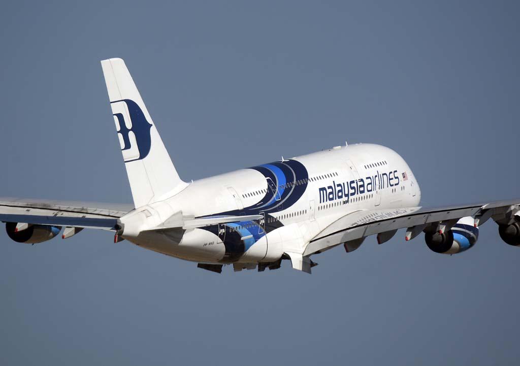 Uno de los seis Airbus A380 de Malaysia Airlines.