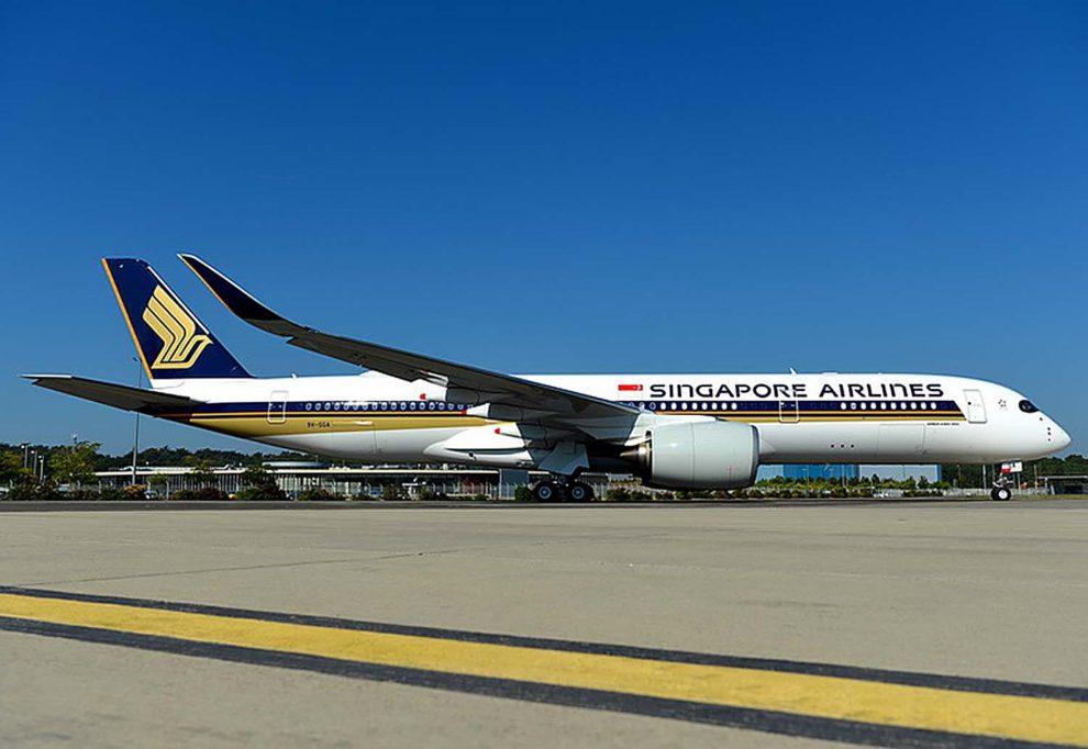 Singapore Airlines es por ahora la única aerolínea que ha adquirido el A350-900ULR,