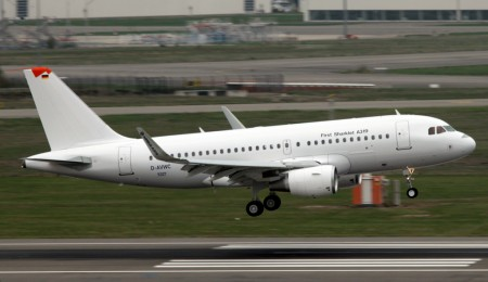 Airbus A319 con sharklets