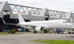 Airbus usará siete A320 cn sharklets para las pruebas y certificación.