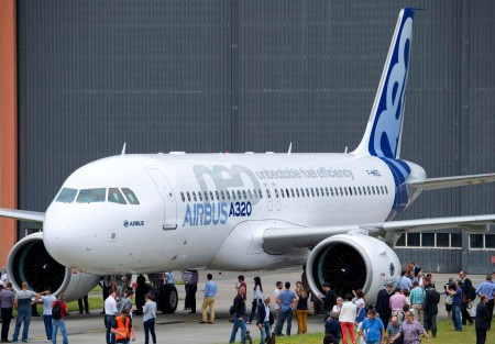 Airbus A320neo F-WNEO.