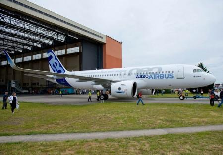Primer Airbus A320neo F-WNEO, msn6101.
