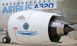 El motor elegido para el primer vuelo del A320neo es el modelo suministrado por Pratt&Whitney
