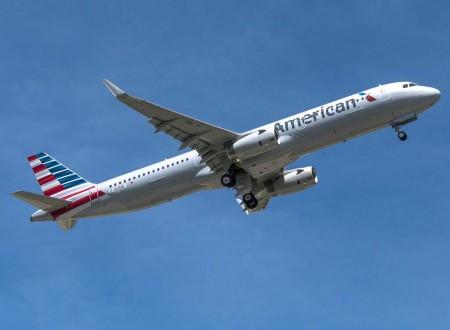 El segundo avión montado en Mobile es este Airbus A321 para American Airlines.