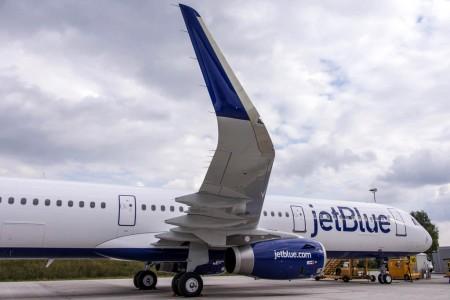 Primer Airbus 321 de JetBlue