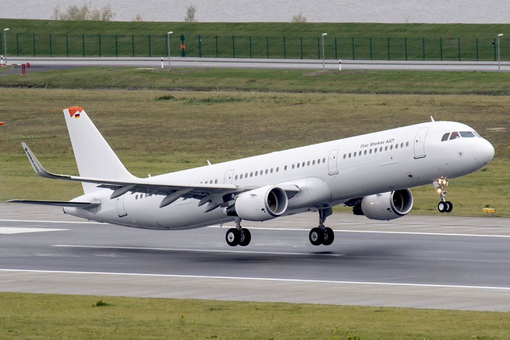 Airbus A321 con sharklets