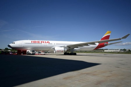 Airbus A330 Madrid de Iberia