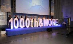 Airbus ha dado las gracias a sus empleados por los 1000 A330 entregados.
