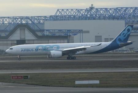 Entre los hechos importantes ocurridos en 2017 en Airbus ha estado el primer vuelo del A330neo.