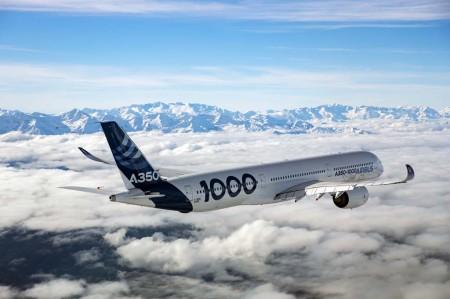 El primer vuelo del Airbus A350-1000 ha transcurrido por el sureste francés.