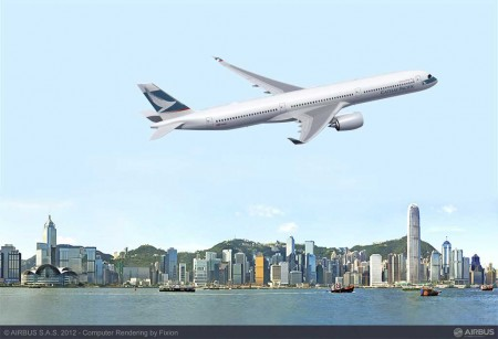 Cathay Pacific ha pedido 10 A350-1000 en el Salón de Farnborough